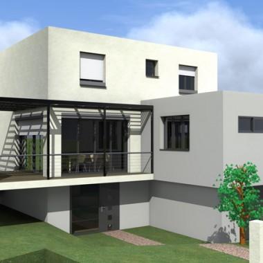 Extension d'une maison de ville