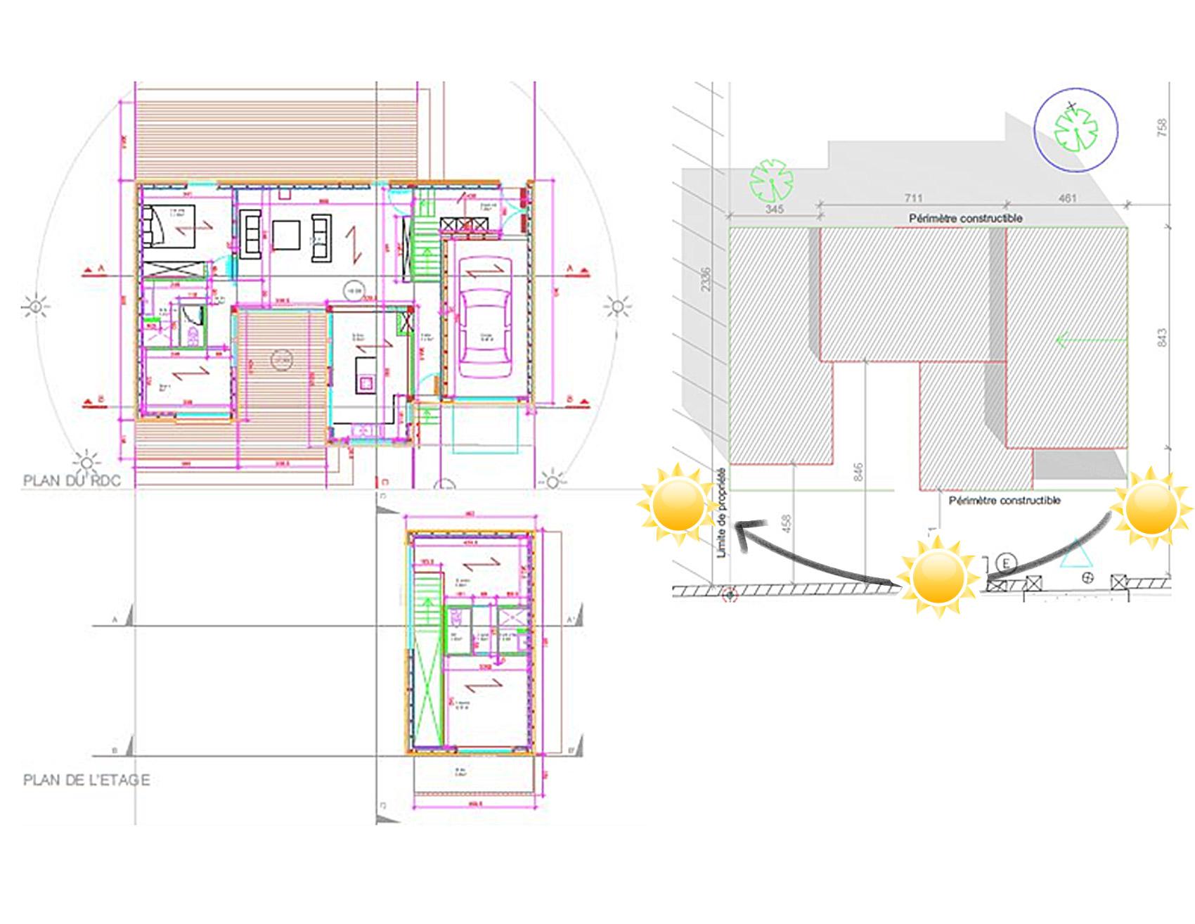 Maison ossature bois Pomponne -01