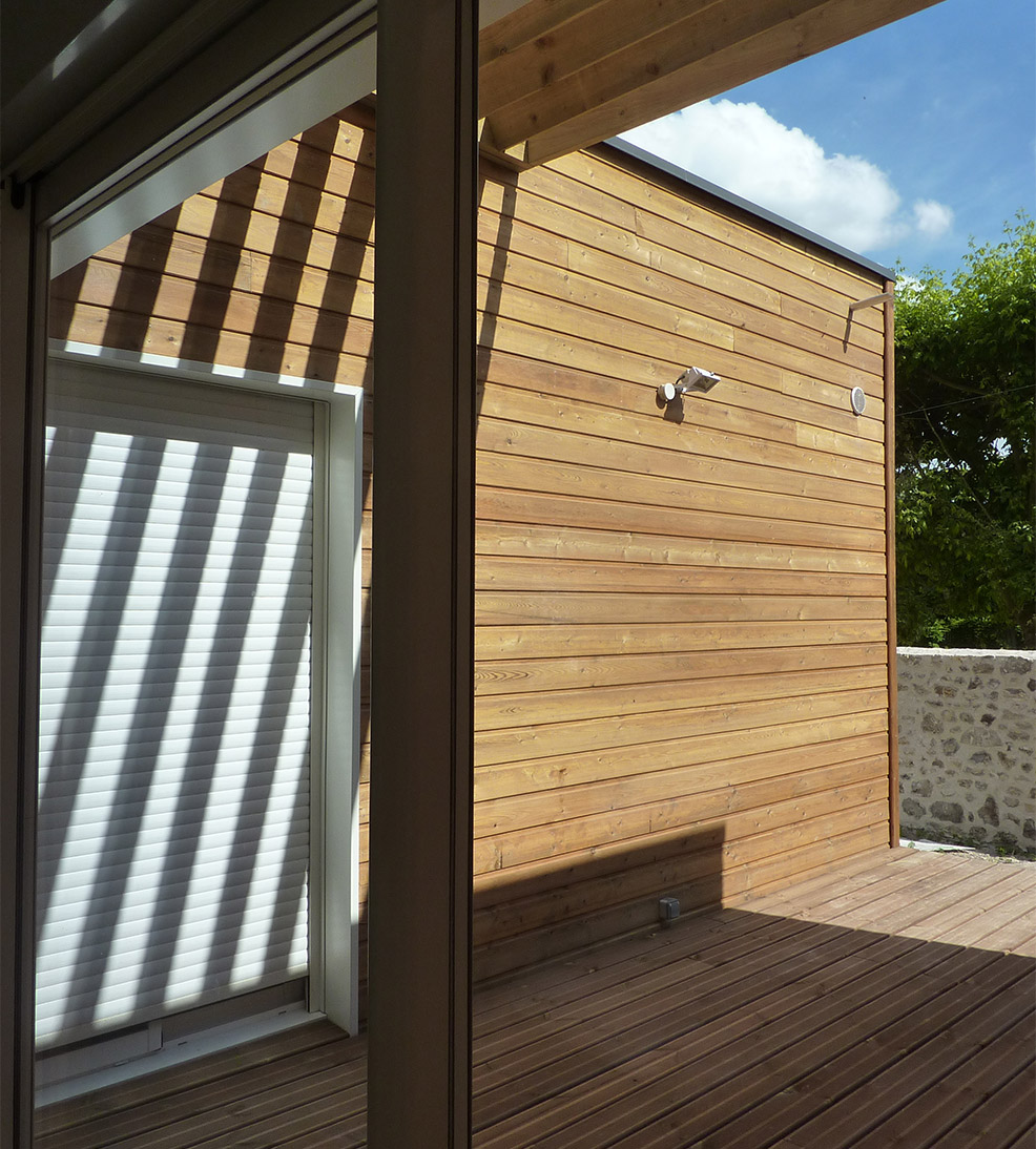 Maison ossature bois Pomponne -03