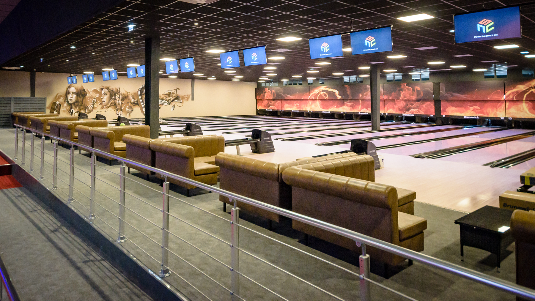 bowling complexe multi-activites nanearchi