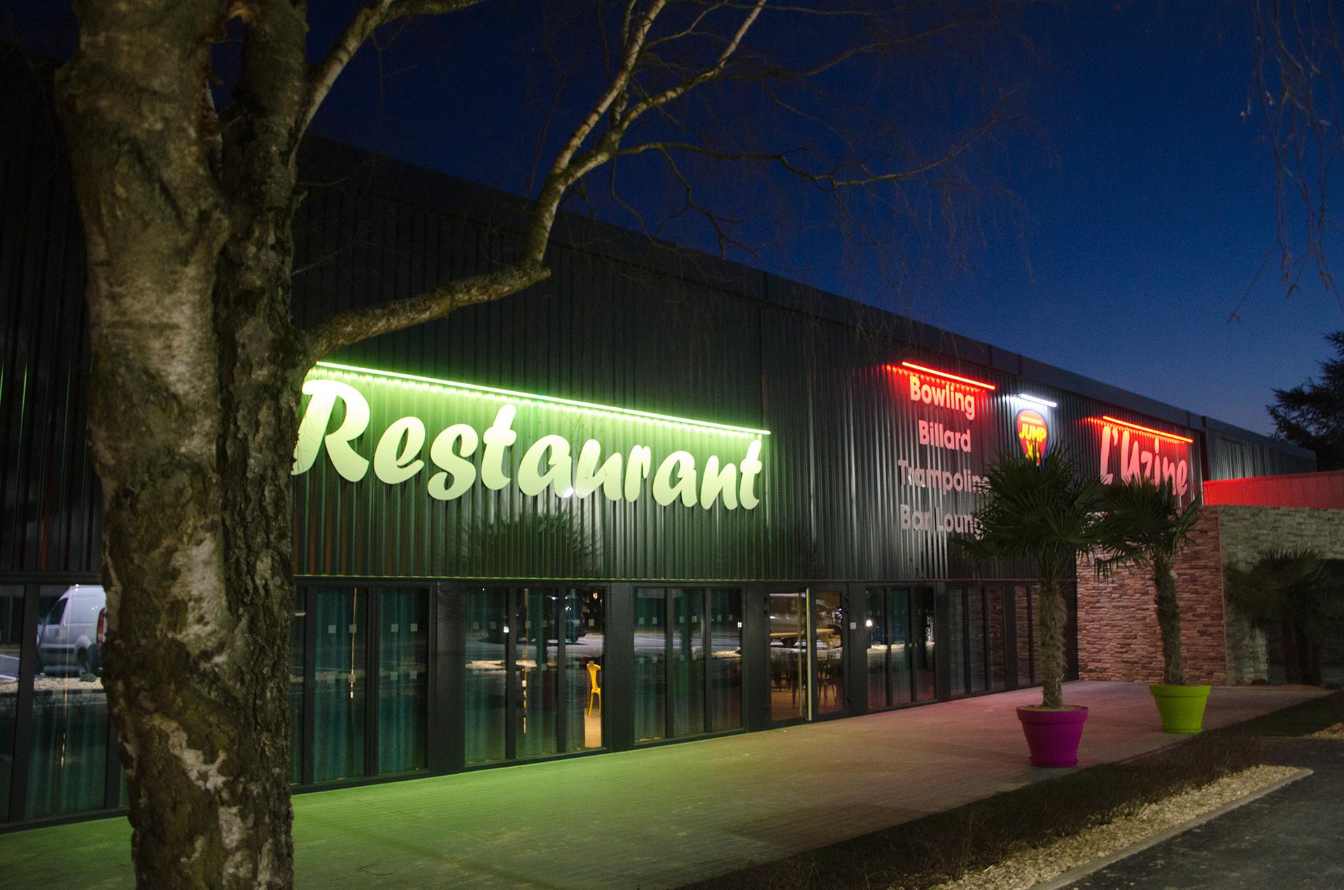 facade restaurant complexe multi-activités nanearchi