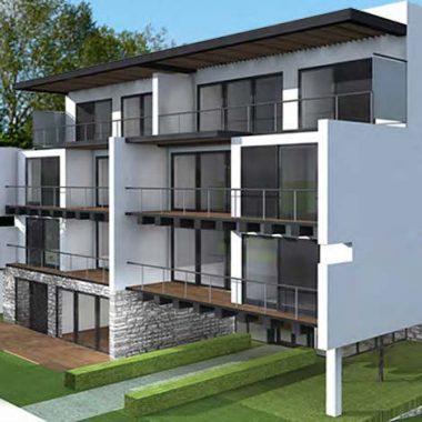 R novation d un ensemble de b timents industriels en 12 logements - Cout de construction d un batiment industriel ...